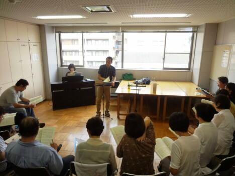 弘混関東地区OB会9月2日練習風景